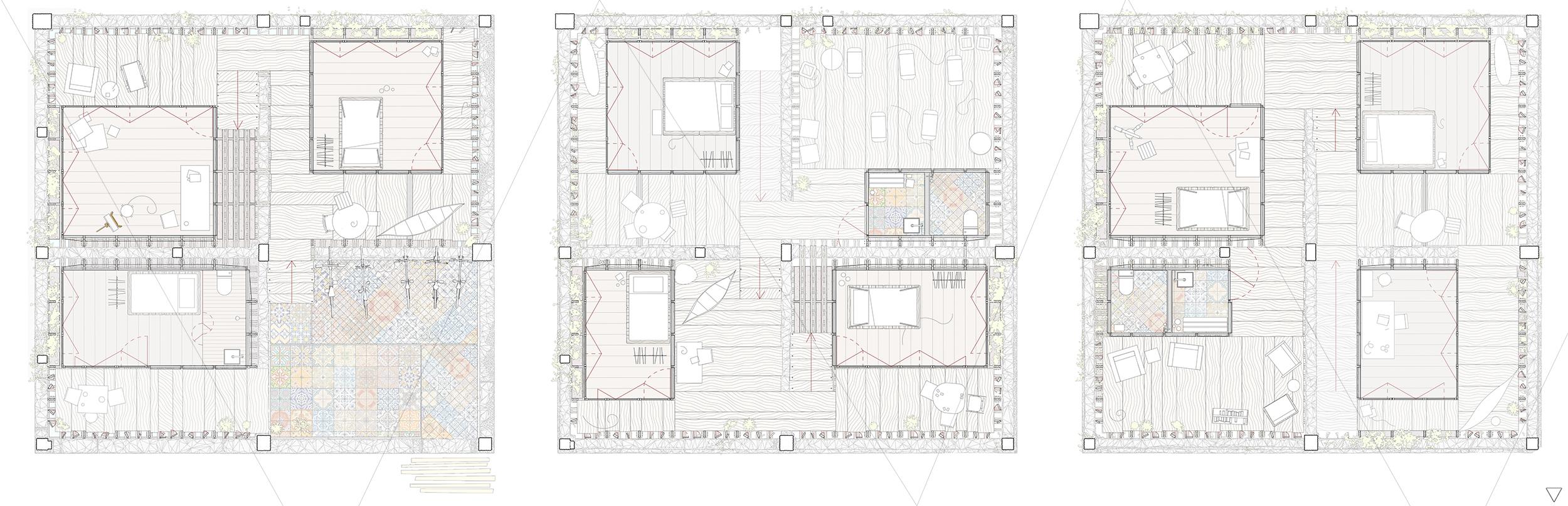 architecture hostel transformation