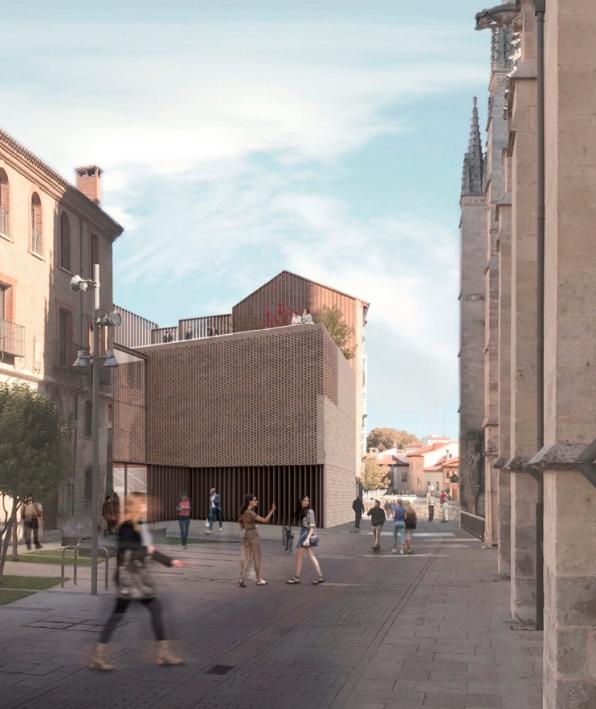 bov estudio - Archivo Burgos 9 (arquitectura)