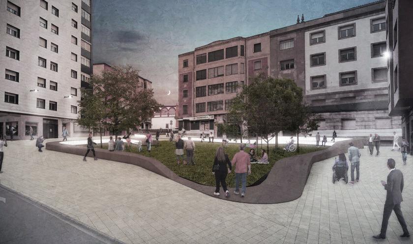 BOV Estudio - Plaza de las Concepciones de Soria